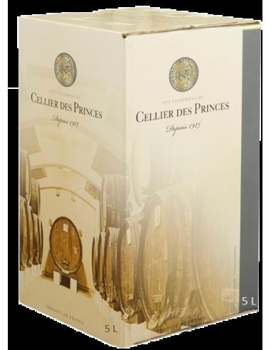 IGP Vaucluse - Cellier des Princes rouge - 5L