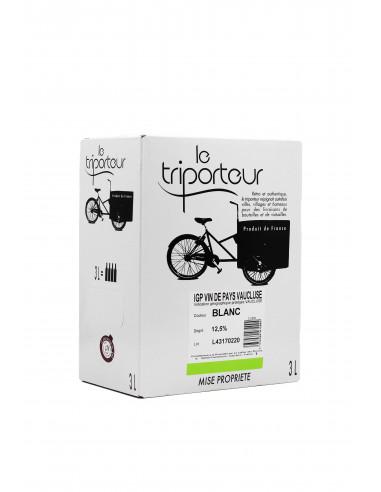 IGP Vaucluse - Le Triporteur blanc - 3L