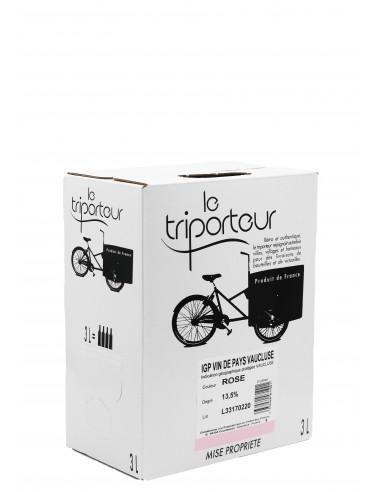 IGP Vaucluse - Le Triporteur rosé - 3L